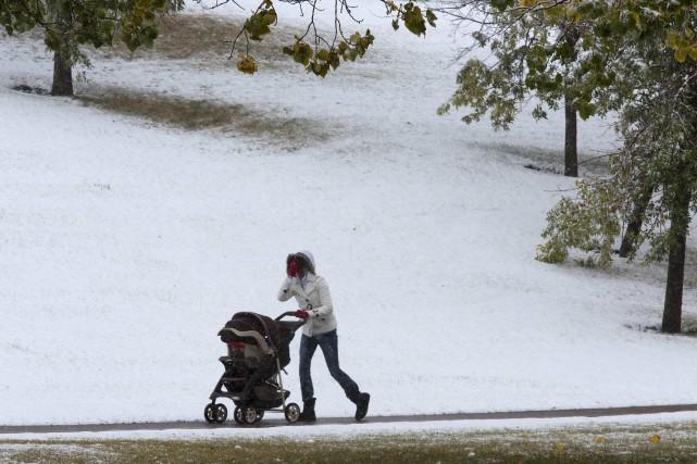 Environnement Canada a publié un nouvel avertissement de... (Photo TODD KOROL, Reuters)