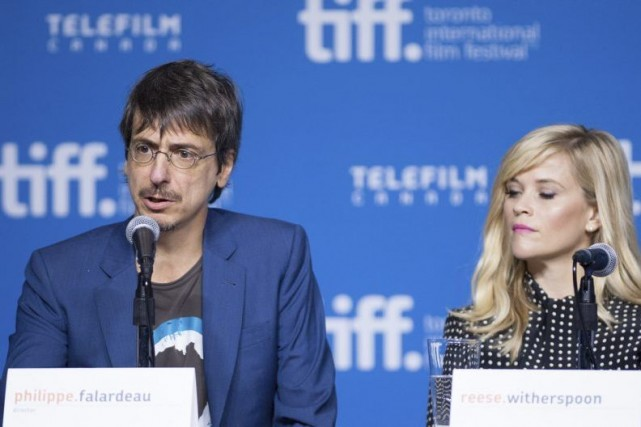 Philippe Falardeau et Reese Witherspoon... (Photo: La Presse Canadienne)