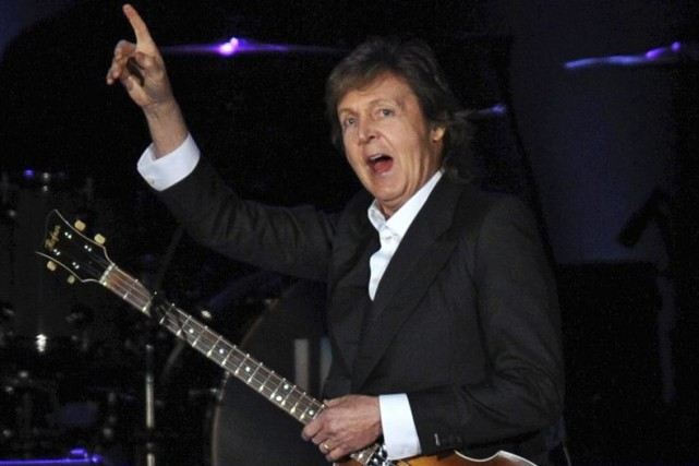 Paul McCartney... (Photo: archives AFP)