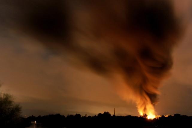 L'explosion s'est produite à Ritterhude, une ville de... (Photo: AFP)