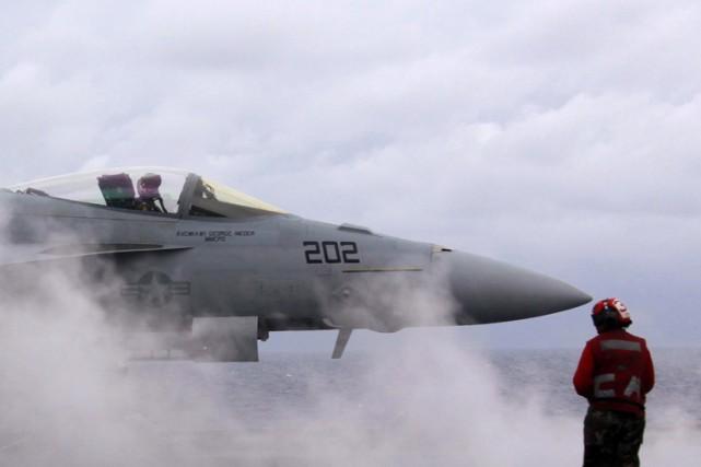 Les États-Unis se lancent dans une opération militaire... (Photo: Reuters)