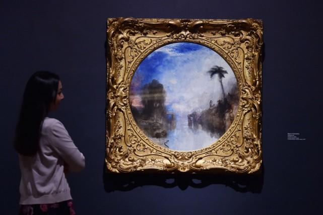 Un tableau de JMW Turner exposéà la Tate... (Photo: AFP)