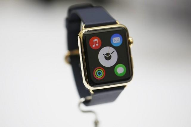 L'AppleWatchne sera mise en marché qu'au début de... (PHOTO STEPHEN LAM, REUTERS)