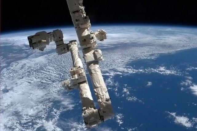 En 2022, la Station spatiale internationale (ISS) aura... (Photo Archives Agence France-Presse)