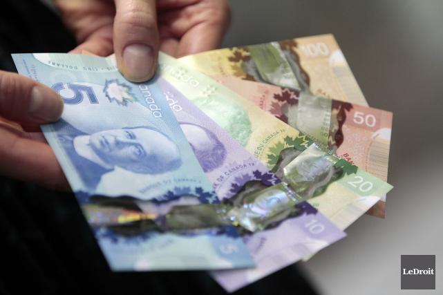 La Banque du Canada maintient le taux cible du financement à un jour à 1%, mais... (Archives Le Droit)