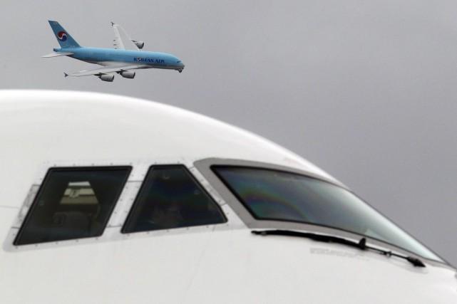 «L'aérospatialeest un domaine très exigeant puisqu'il inclut des... (Photo archives Reuters)