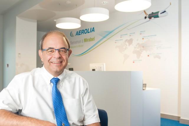 Marc Bourret, président d'Aerolia... (PHOTO CATHERINE LEFEBVRE, COLLABORATION SPÉCIALE)