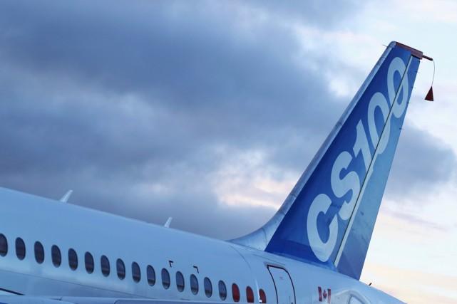 Les avions CSeries de Bombardier ont été conçus... (PHOTO ARCHIVES REUTERS)