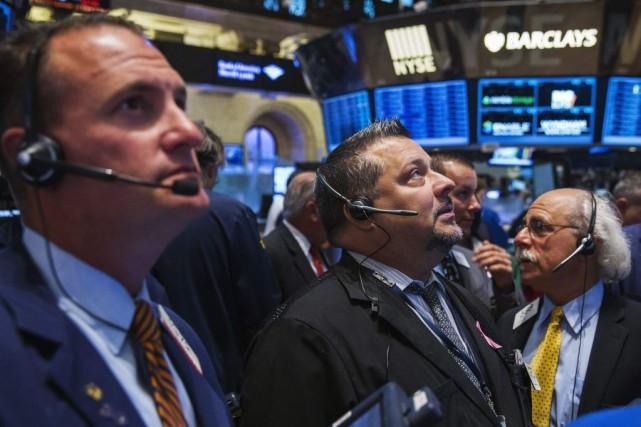 Les investisseurs redoutent le moment où la banque... (PHOTO LUCAS JACKSON, REUTERS)