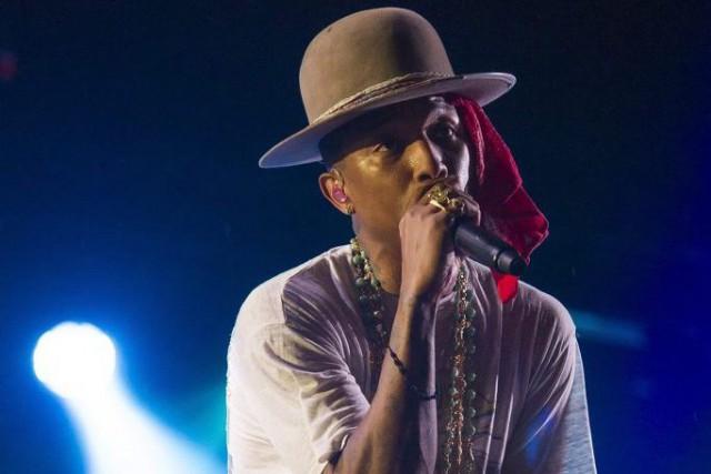 Pharrell Williams en spectacle à Philadelphie le 31... (PHOTO ARCHIVES AP)