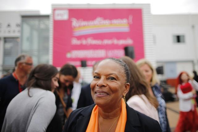 La ministre françaisede la Justice Christiane Taubira.... (PHOTO STEPHANE MAHE, ARCHIVES REUTERS)