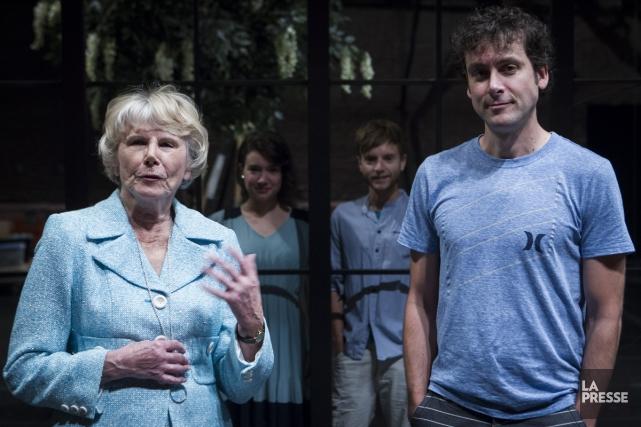 Béatrice Picard et Carl Poliquin interpréteront les personnages... (Photo: Olivier Pontbriand, La Presse)