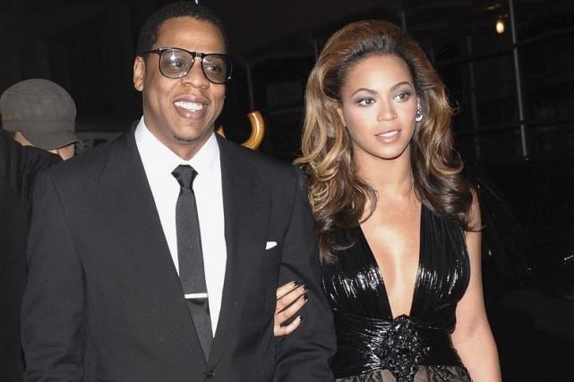 Jay-Z et Beyoncé... (Photo: archives AP)