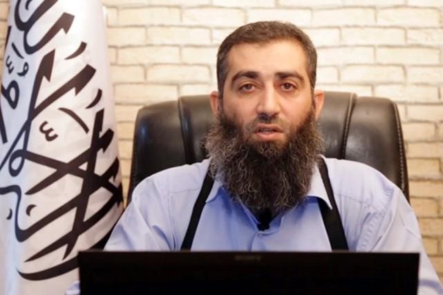 Hachem al-Cheikh, connu sous le nom d'Abou Jaber,... (IMAGE AFP/FRONT ISLAMIQUE)