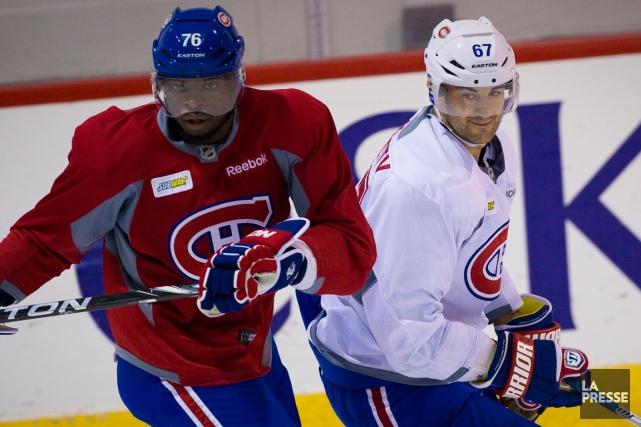P.K. Subban et Max Pacioretty ont tous deux... (Photo André Pichette, archives La Presse)