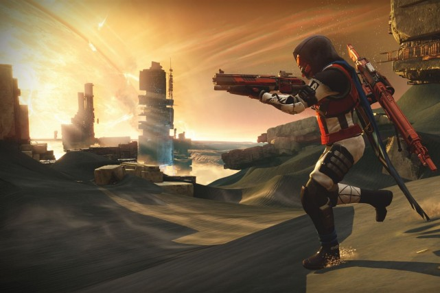 Destiny est un jeu de tir qui se... (Photo tirée de Facebook/Destiny)