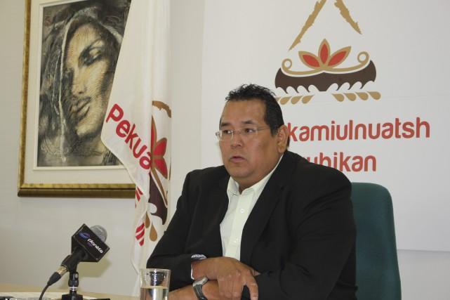 Le chef du conseil de bande de Mashteuiatsh,... ((Archives))