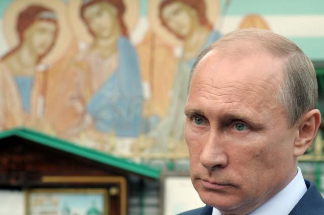 Le président russe vladimir poutine, à moscou, le... (photo alexei