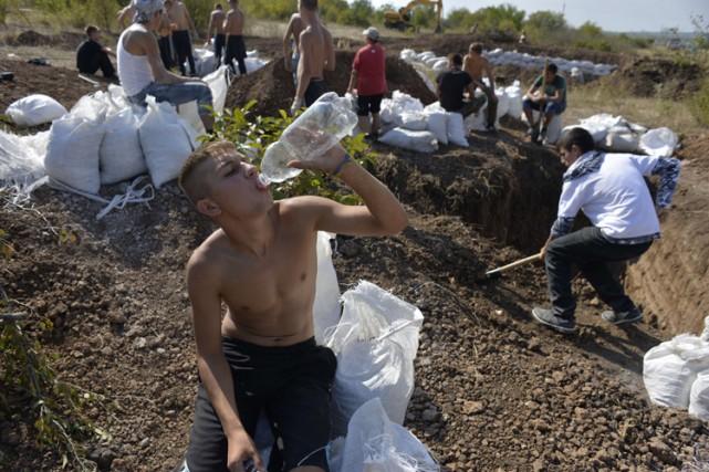 La mairie de Donetsk a indiqué que «la... (Photo: AFP)
