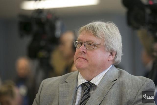 M. Barrette a affirmé qu'il déposera mercredi soir... (Photo: Olivier Pontbriand, archives La Presse)