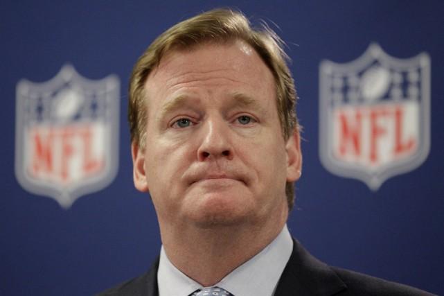 Le commissaire de la NFL, Roger Goodell (photo),... (Photo: AP)