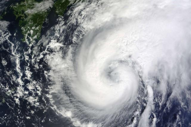 L'Agence japonaise de météorologie a émis jeudi matin des alertes maximales... (Photo: AFP)