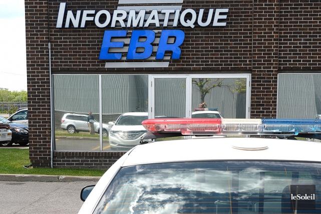 Les bureaux d'Informatique EBR... (Photothèque Le Soleil, Patrice Laroche)