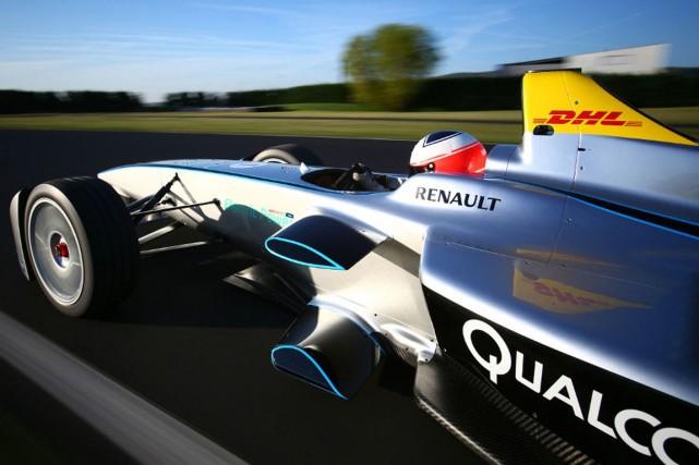 L'idée d'une course de voitures électriques, lancée et... (PHOTO FOURNIE PAR LA FIA)