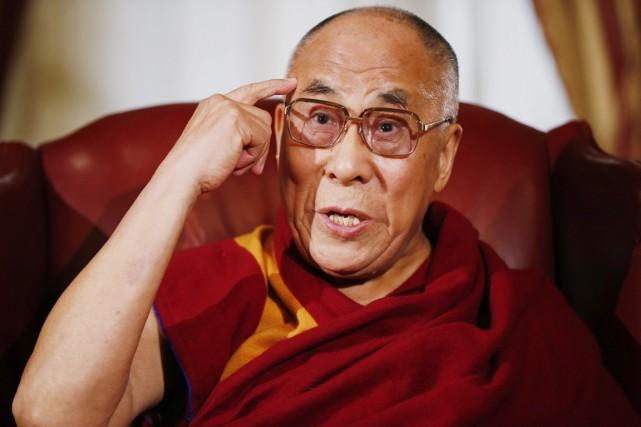 Le dalaï-lama peut-il unilatéralement décider de ne pas... (PHOTO CHARLES DHARAPAK, ARCHIVES AP)