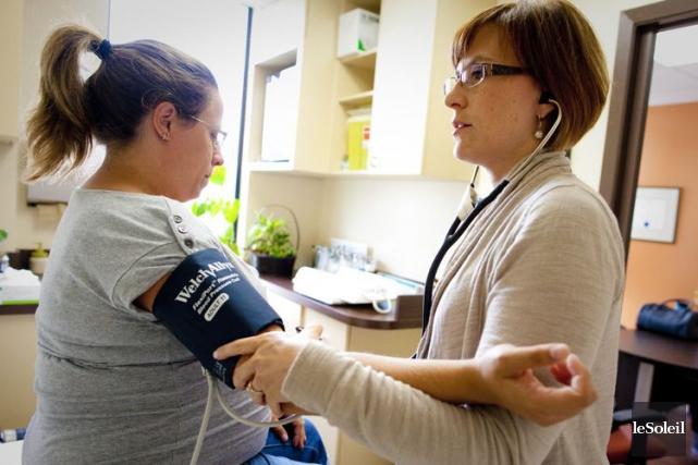 «Actuellement, seulement 7% des médecins canadiens permettent à... (Photothèque Le Soleil)