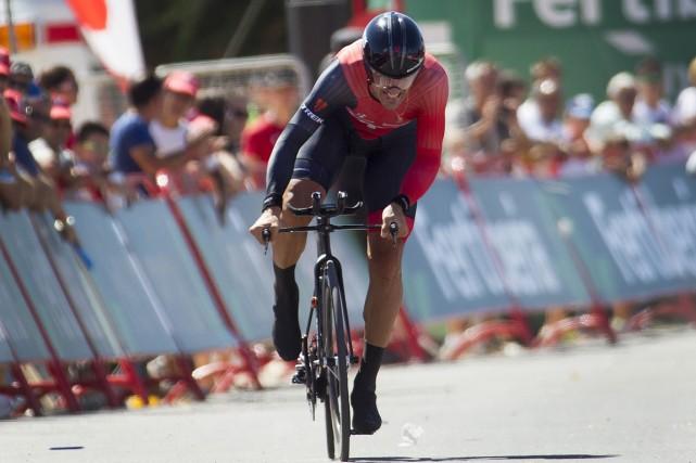 Fabian Cancellara... (Photo Jaime Reina, AFP)