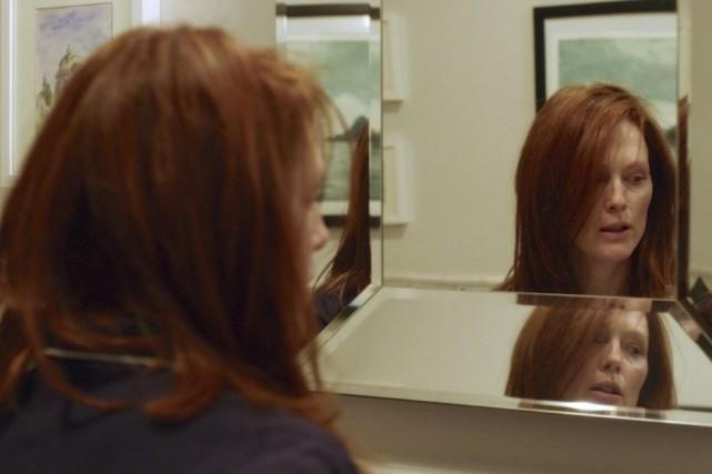 Julianne Moore dans une scène de Still Alice.... (Photo: La Presse Canadienne)