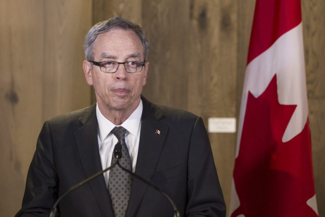 Le ministre fédéral des Finances, Joe Oliver, a... (Archives La Presse Canadienne)