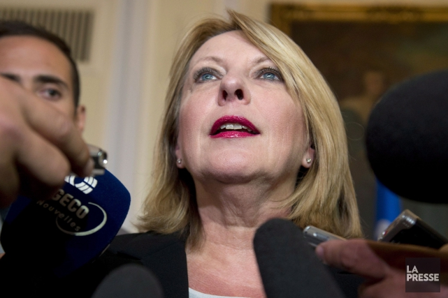 La ministre des Relations internationales, Christine Saint-Pierre... (Photo Jacques Boissinot, PC)