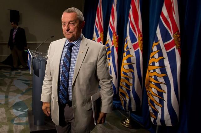Le ministre de l'Éducation de la Colombie-Britannique,Peter Fassbender... (Photo Darryl Dyck, PC)