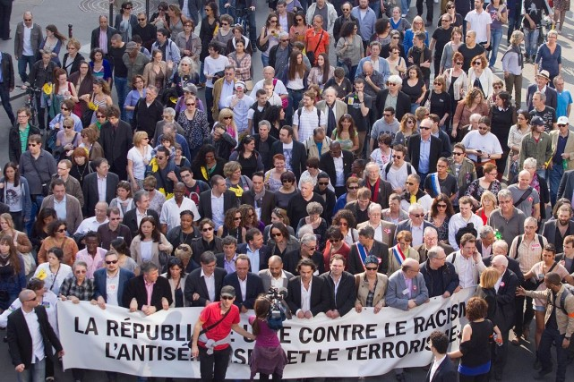 Des marches dénonçant entre autres l'antisémitisme ont été... (Photo: archives AFP)