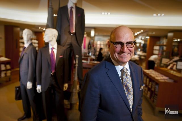 Larry Rosen, propriétaire, président et fils du fondateur... (Photo André Pichette, La Presse)