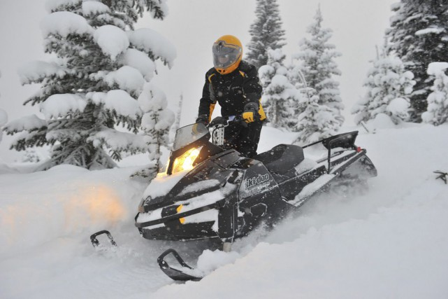Le fabricant du Ski-Doo et d'autres véhicules récréatifs... (Photo fournie par BRP)