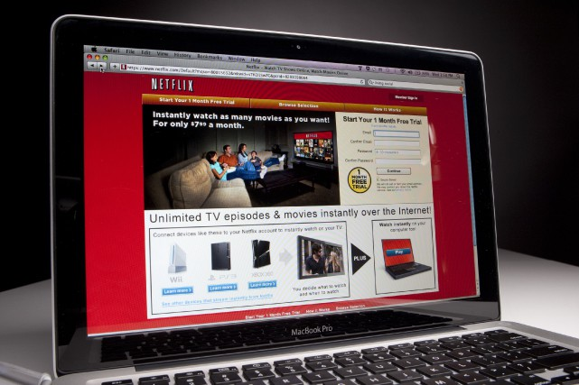 Netflix compte déjà plus de 57 millions de... (Photo Scott Eells, Archives Bloomberg)