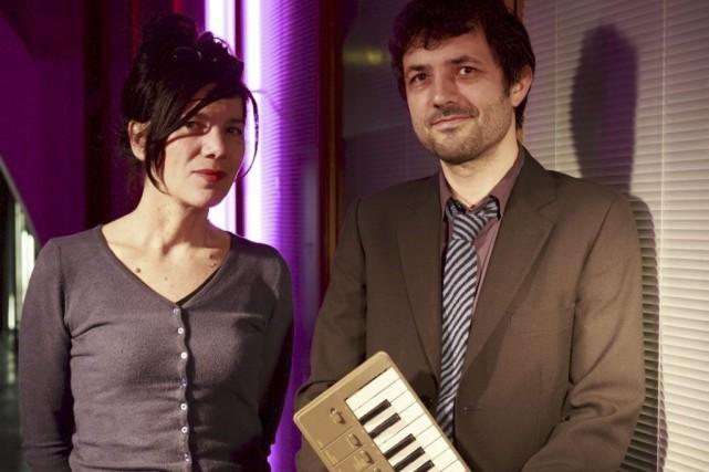 Brigitte Giraud et Albin de la Simone... (Photo: fournie par le FIL)