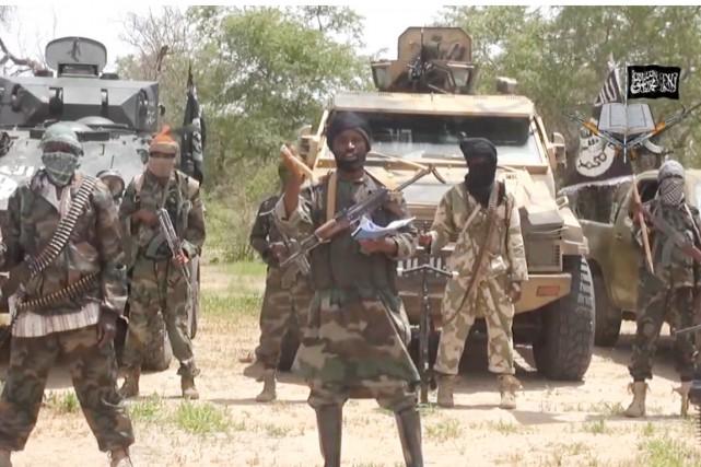 Boko Haram, mené par son chef Abubakar Shekau... (IMAGE ARCHIVES AFP/BOKO HARAM)