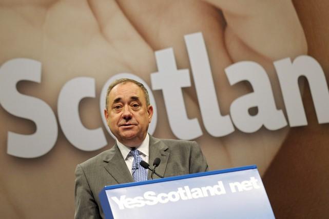 Le premier ministre Alex Salmond a établi des... (PHOTO ANDY BUCHANAN, AFP)