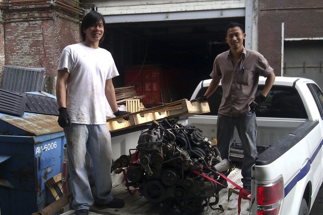 Andy Ta et Meng Lim ont fondé GranTuned... (PHOTO FOURNIE PAR GRANTUNED AUTOMOBILE)