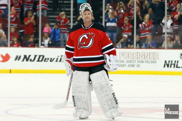 À 42 ans, Martin Brodeur n'a toujours pas... (Photo Ed Mulholland, USA Today)