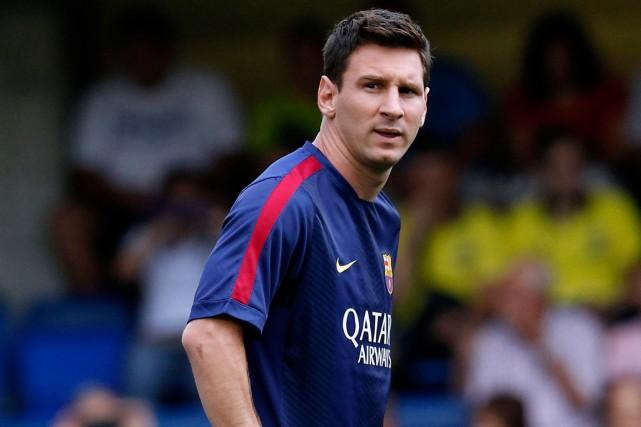 Lionel Messi... (Photo Alberto Saiz, AP)