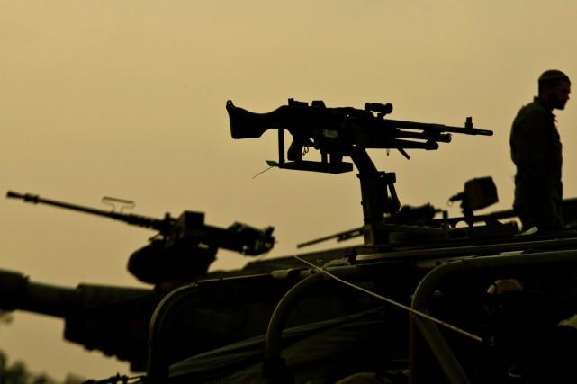 Israël est un pays oùl'armée joue un rôle... (PHOTO JACK GUEZ, ARCHIVES AFP)