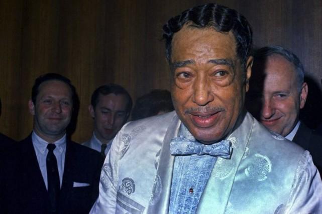 Duke Ellington (à l'avant-plan) en 1968.... (Photo: archives AP)