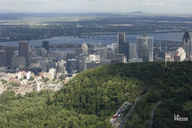 L'exercice de compressions entrepris par Québec n'inquiète le maire de Montréal... (Photo David Boily, Archives La Presse)