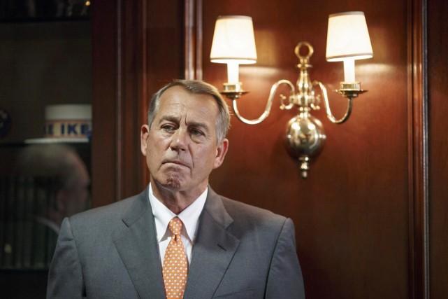 «Nous devons accorder au président ce qu'il demande»,... (PHOTO J. SCOTT APPLEWHITE, ARCHIVES AP)