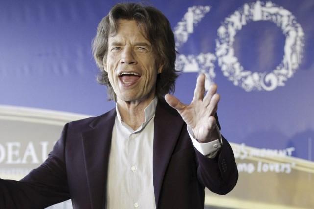 Mick Jagger au Festival du film américain de... (Photo: AFP)